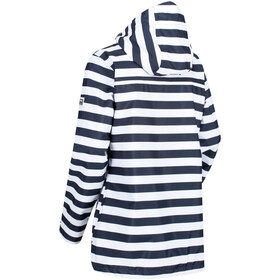 Regatta Basilia Giacca Donna, navy stripe